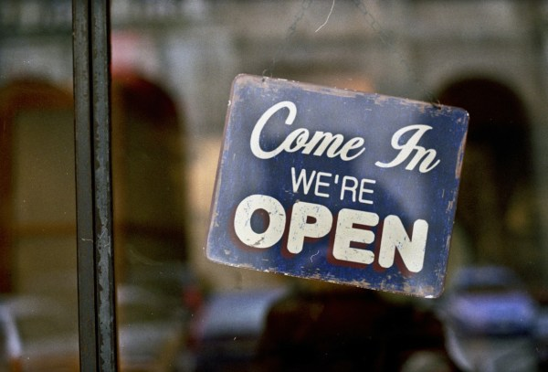 Come in, We're open !