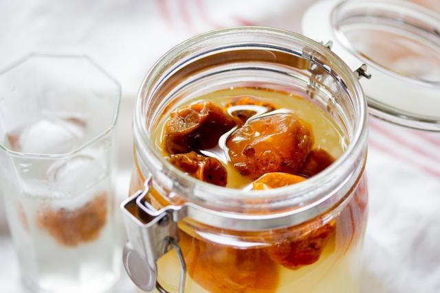 梅 ジュース 発酵