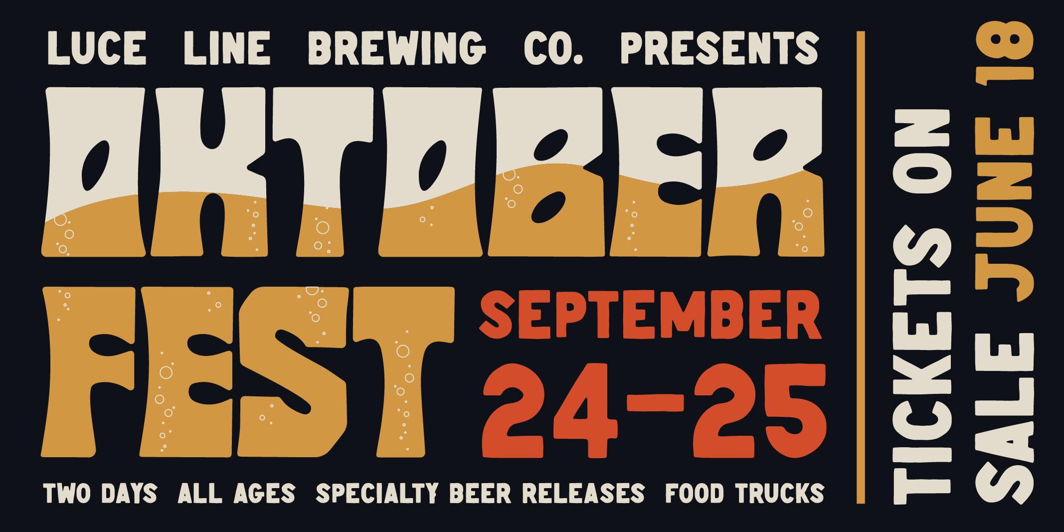 Oktoberfest Poster - Tickets on Sale June 18