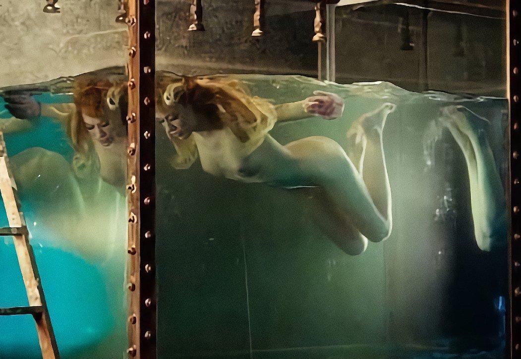 Patricia Conde desnuda en una imagen perdida by LucenPop