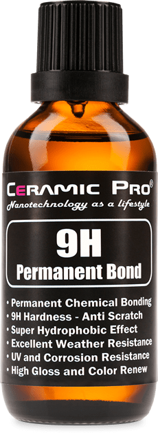 ceramic coating ceramic pro 9h bottle