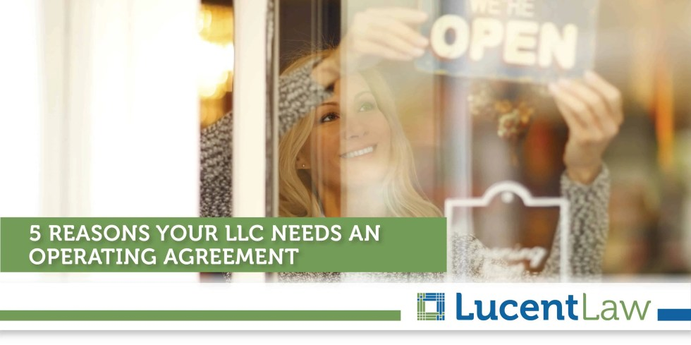 5 Reasons Your LLC Needs An Operating Agreement