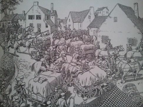 """""""La Grande Guerra"""", illustrazione di Joe Sacco – Credits: Rizzoli Lizard"""