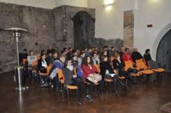 Gli studenti durante il seminario