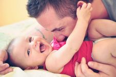 The Love of God picture of baby and father
