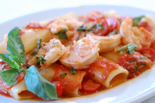 Paccheri Pomidoro! Try It!