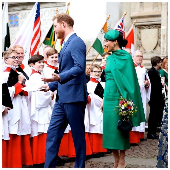 Se despiden de la realeza los Duques de Sussex