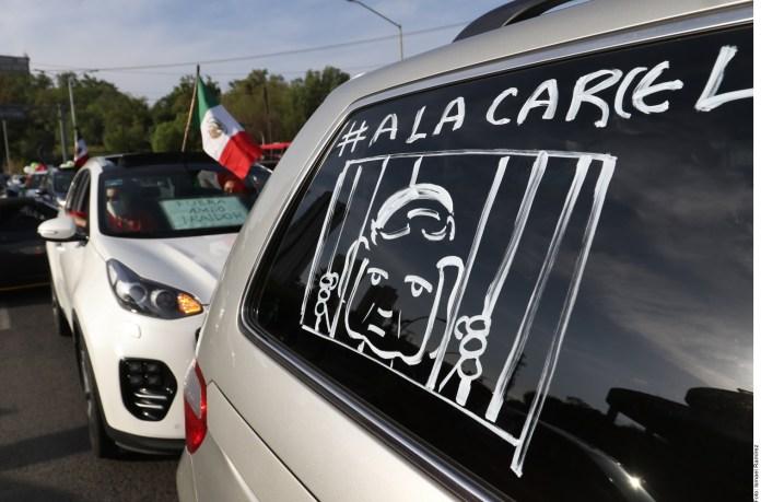 Protestan, otra vez, contra López Obrador en estados