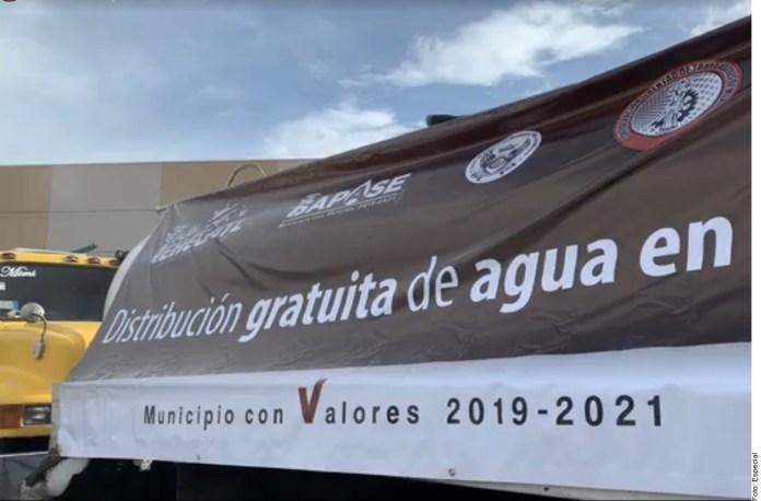 Exhortan a Ecatepec a deslindarse de Sindicato para repartir agua