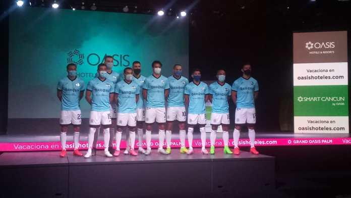 Presenta Cancún F.C. uniformes oficiales