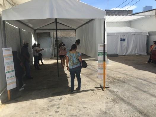 Salud Digna, local indigno para realizar pruebas Covid-19