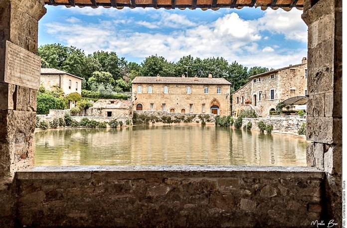 Ciudad Balneario escondido en La Toscana