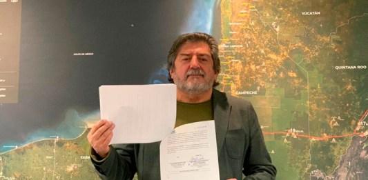 Firman alianza Fonatur y CFE para electrificar el Tren Maya