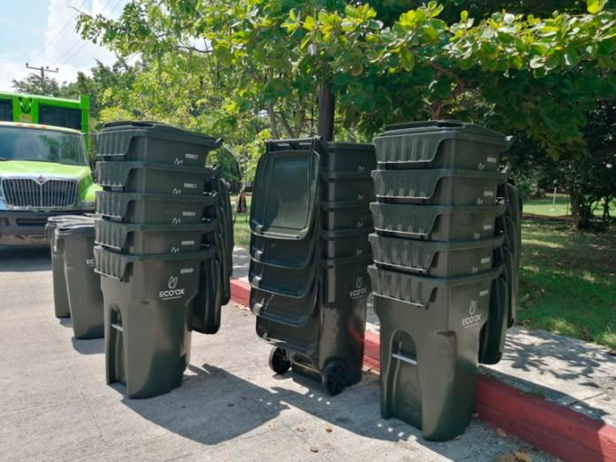 Reparten contenedores para mejorar recoja de basura