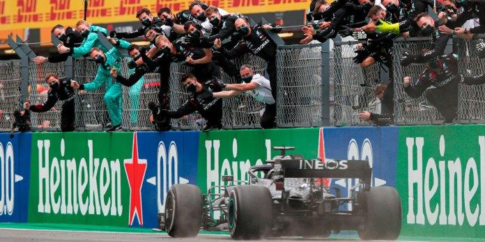 Es Hamilton el más ganador de F1