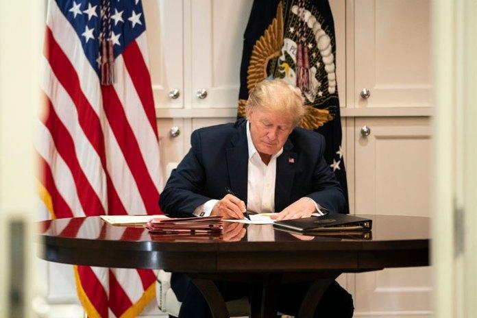 Trump puede ser dado de alta el lunes