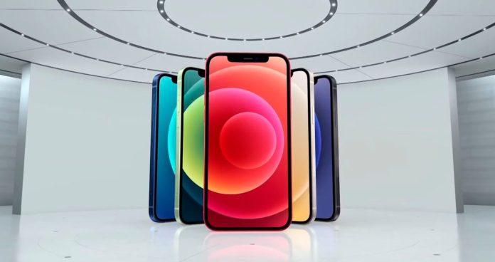 Presenta Apple nuevos iPhone 12