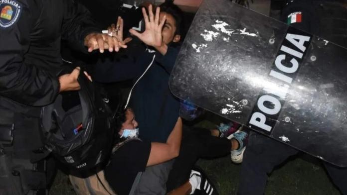Cambia procedimiento policial para manifestaciones