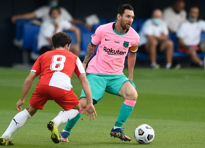 Jugará Barcelona sin Messi ante Dynamo Kiev