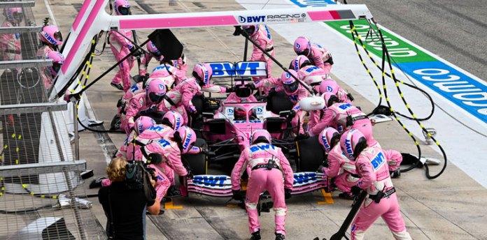 Frena Racing Point a Checo Pérez
