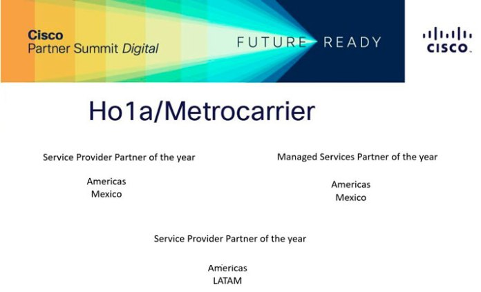 Dan 3 premios a MetroCarrier