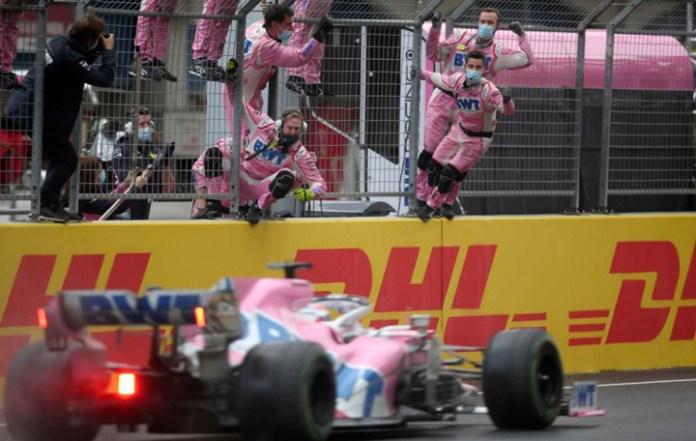 Vive 'Checo' su mejor campaña en F1