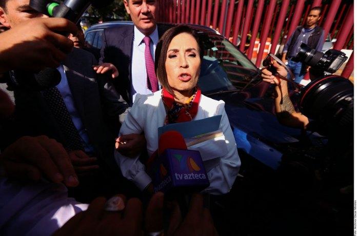 Acusa Rosario Robles desvíos a la campaña de Meade