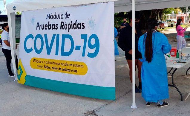 Arrancan pruebas rápidas en Cancún