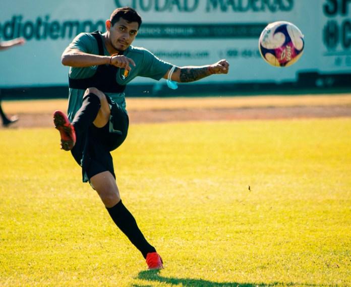 Lizandro Echeverría está listo para jugar con los Venados