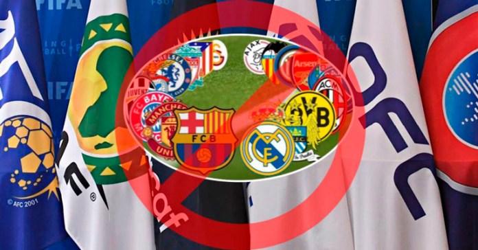 Rechazan organismos la Superliga Europea