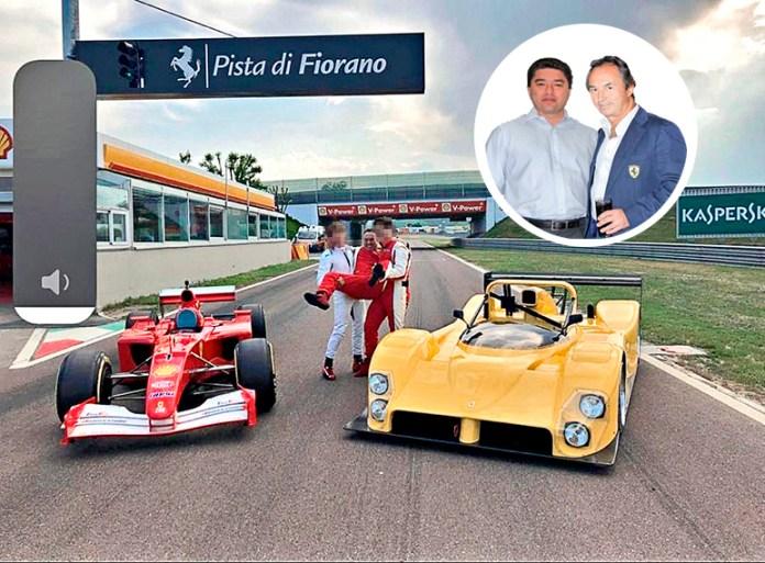 Ligan con rumanos a 'Sultán de Ferraris'