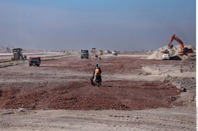 Expropian 109 hectáreas para aeropuerto de Santa Lucía