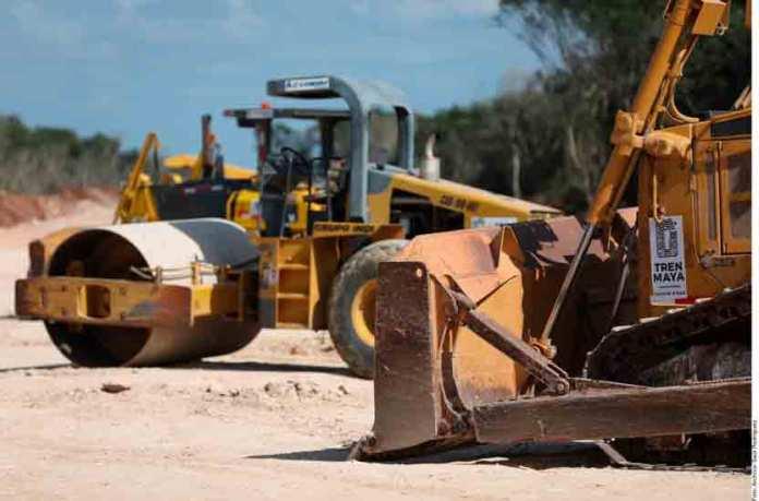 Continuarán obras del Tren Maya… donde se pueda