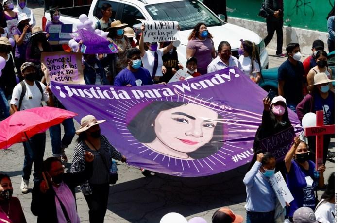 Protestan por Wendy; piden frenar violencia