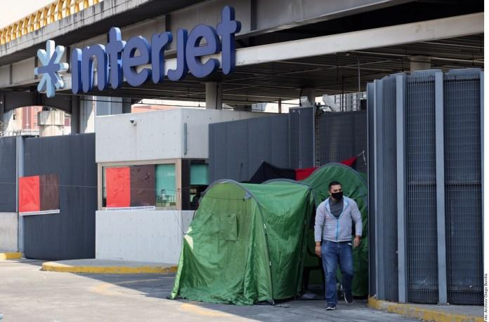 Autorizan embargo de bienes de Interjet por huelga