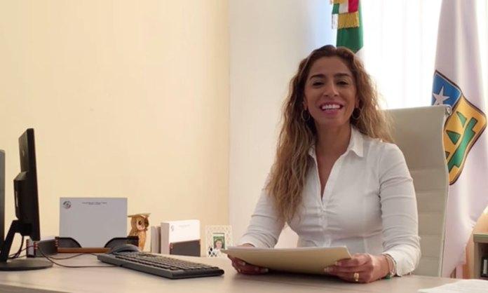 Pide Marybel Villegas licencia al Senado