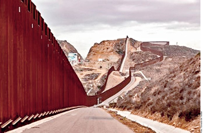 Impacta a fauna muro inconcluso de Trump