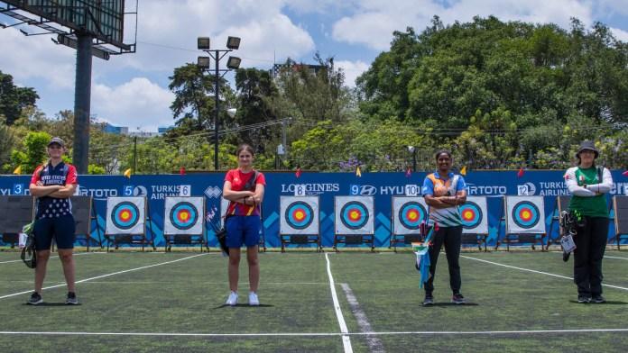 Mexicanos consiguen medallas en Mundial de Tiro con Arco