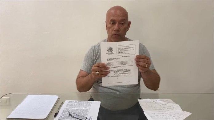 Tacha Tirso Esquivel como intimidación cateo en domicilio