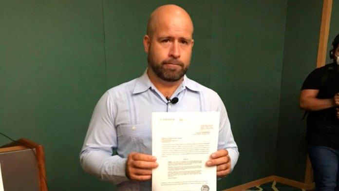 El diputado José de la Peña anunció que fue exonerado por la UIF, y que le liberaron cuatro cuentas bancarias que mantenían congeladas