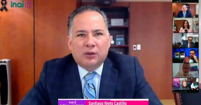 Santiago Nieto informó que el presidente Andrés Manuel López Obrador le pidió no formular denuncias durante la actual campaña electoral.