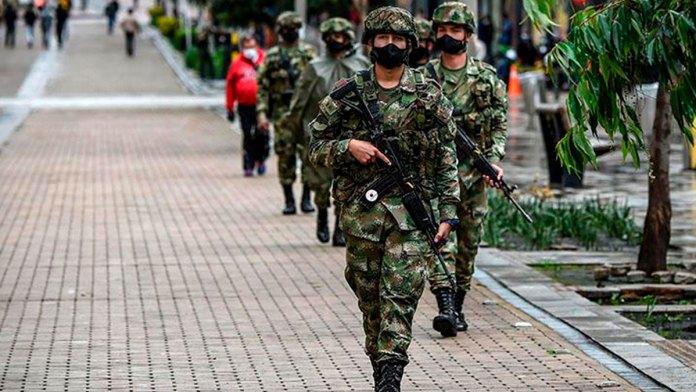 Justifica Colombia la presencia militar