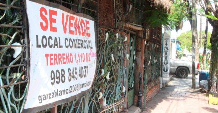 Tumba Covid 500 comercios ligados a Canaco en Cancún