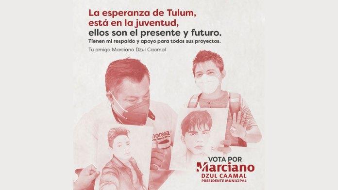 Amonesta Tribunal Electoral a Marciano Dzul por difundir rostros de niños