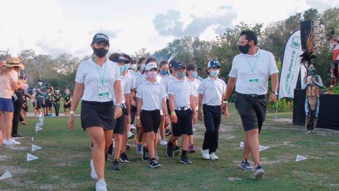 Inicia Torneo Nacional de Golf Lorena Ochoa en la Riviera Maya