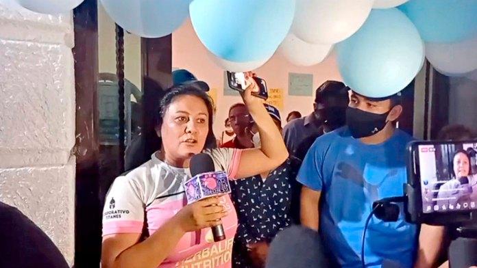 Liberan a candidata retenida en Chiapas