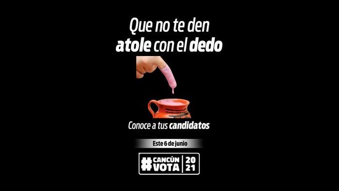 Promueven el voto; luchan contra el abstencionismo en Cancún