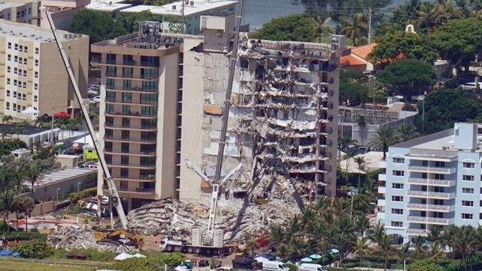Revelaron fallas desde 2018 en edificio caído en Miami