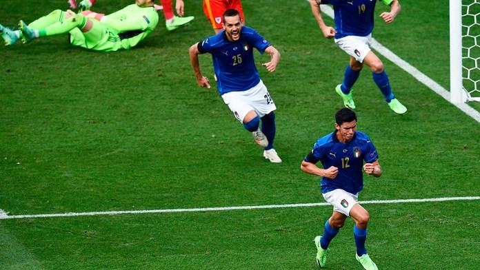 Marcha Italia perfecta en la Eurocopa