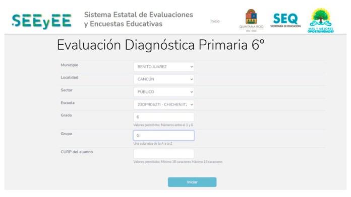 Avanza diagnóstico de rezago educativo